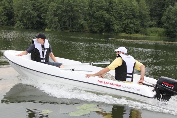 лодка моторная nissamaran laker